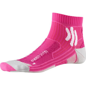X-Socks Marathon Energy Socks Dame flamingo pink/arctic white